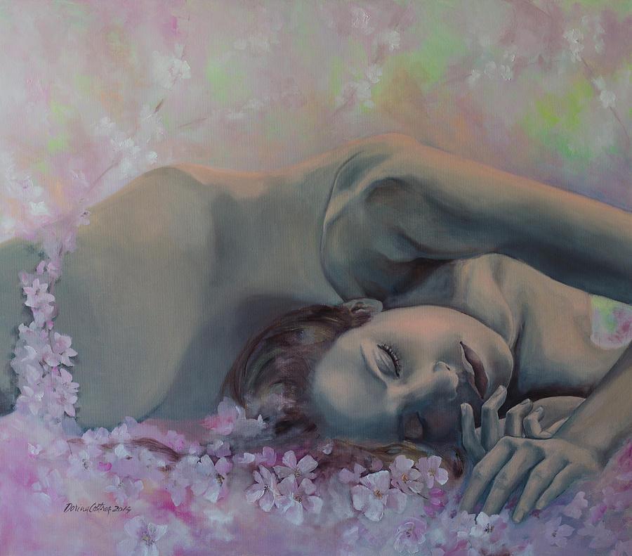 Fantasy Painting - Revival by Dorina  Costras