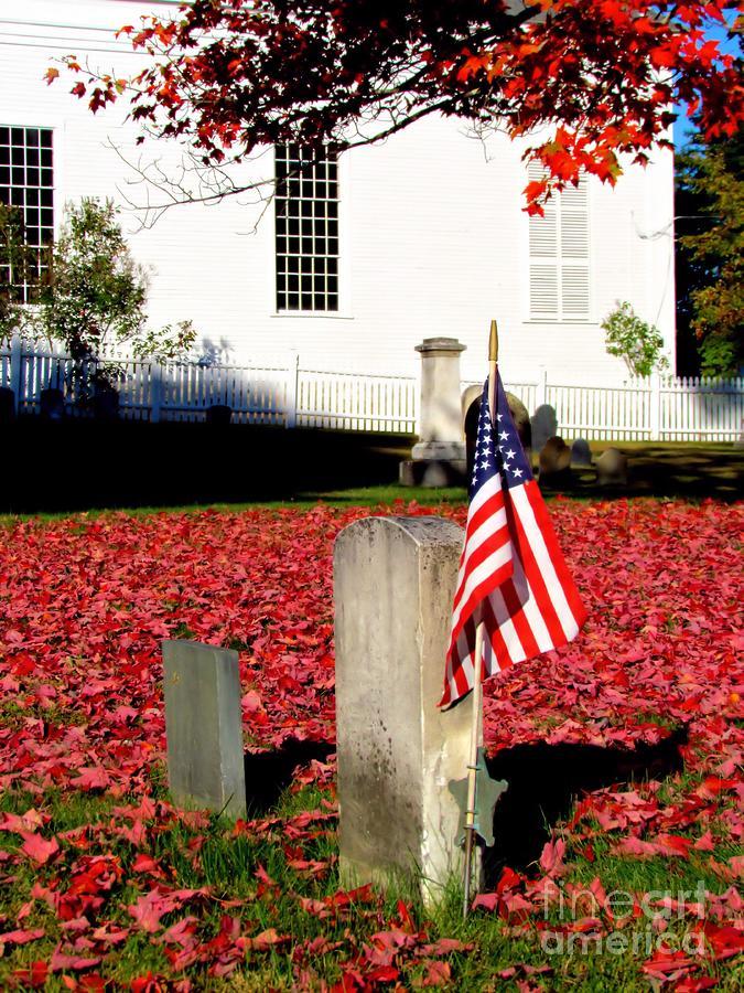 Yarmouth Maine Photograph - Revolutionary War Hero by Elizabeth Dow