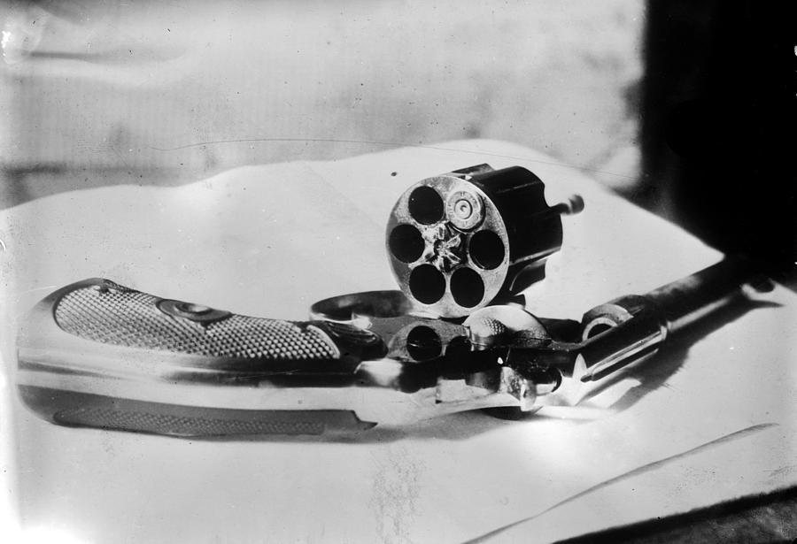 1912 Photograph - Revolver, 1912 by Granger