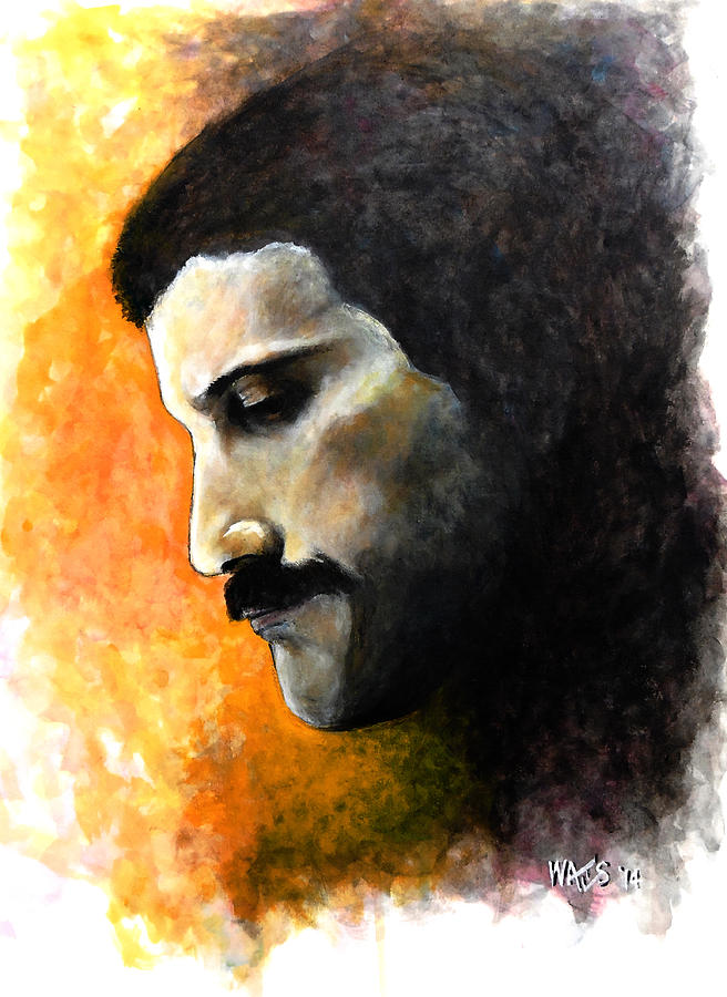 Mercury Painting - Rhapsody - Freddie Mercury by William Walts
