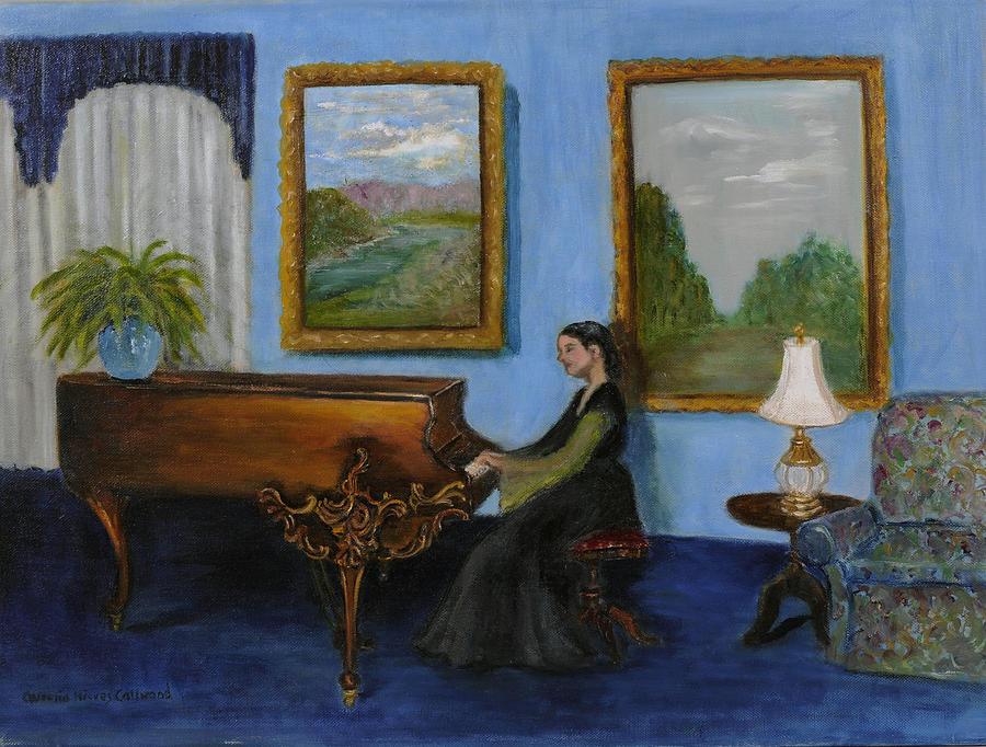 Rhapsody In Blue by Aurelia Nieves-Callwood