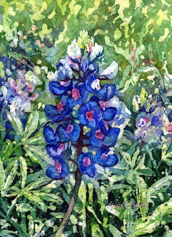 Rhapsody In Blue Painting