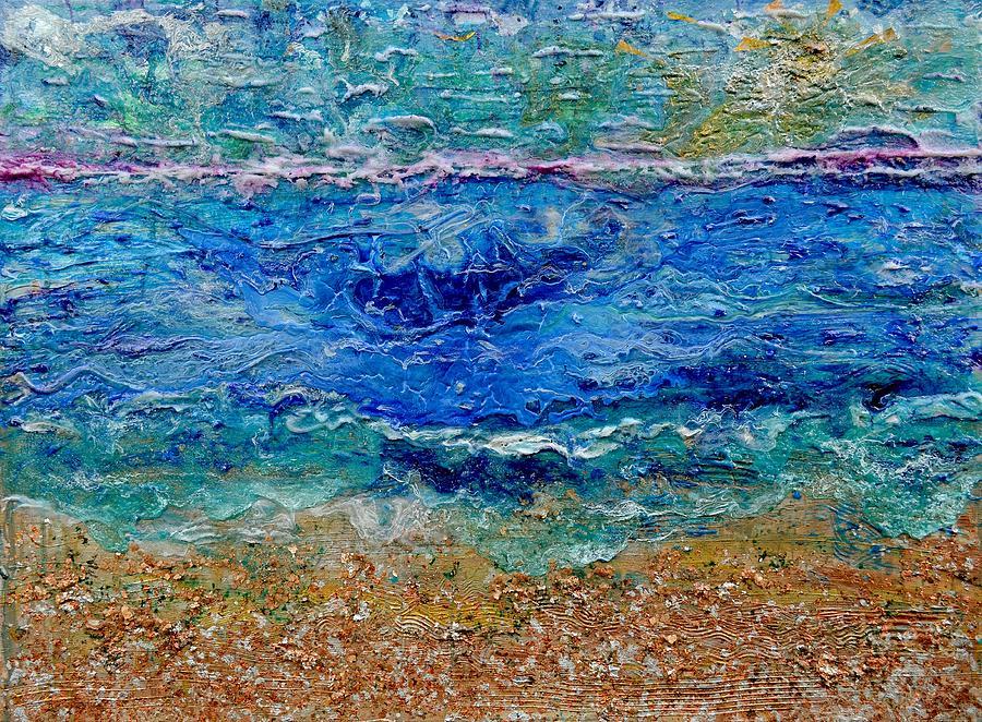 Rhapsody Painting - Rhapsody On The Sea  by Regina Valluzzi