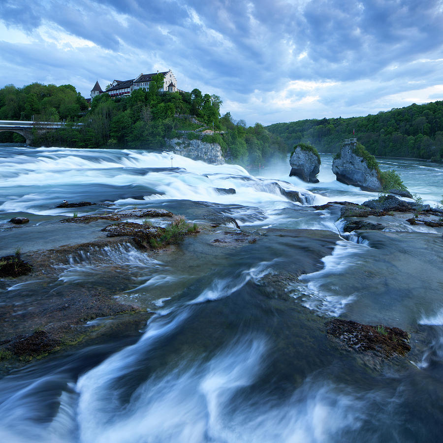 Rhine Falls - Europes Largest Waterfall Photograph by Visionandimagination.com