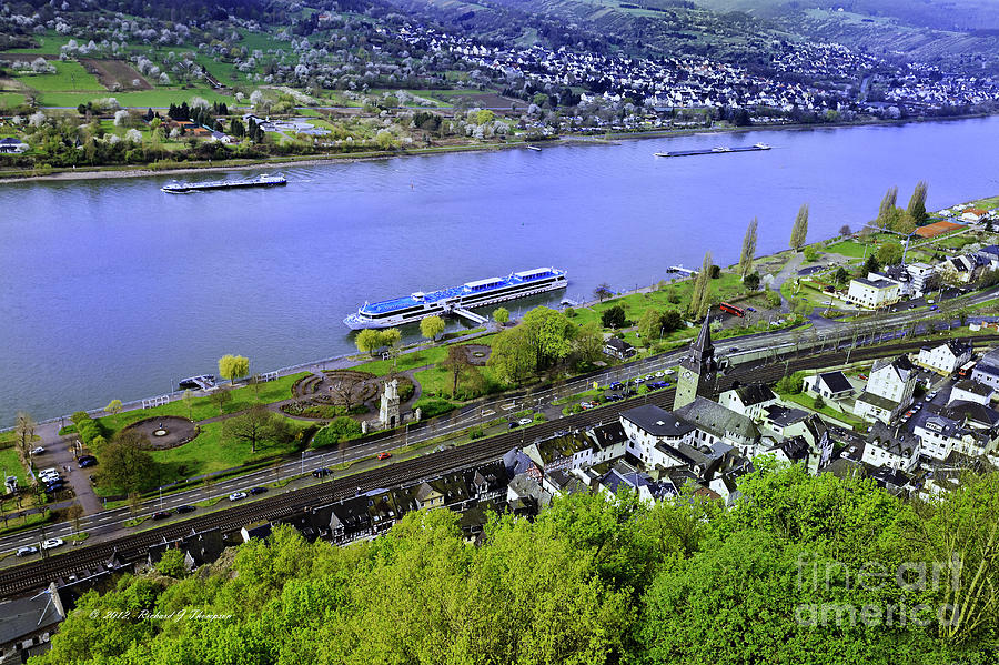 Rhine River Cruise Europe by Richard J Thompson