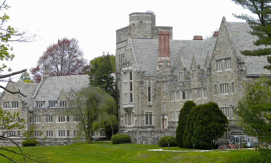 Bryn Mawr College Photograph - Rhoads Hall Bryn Mawr College by Georgia Fowler