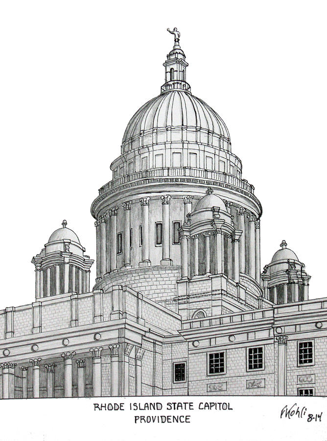 Rhode Island Capitol Building Inside