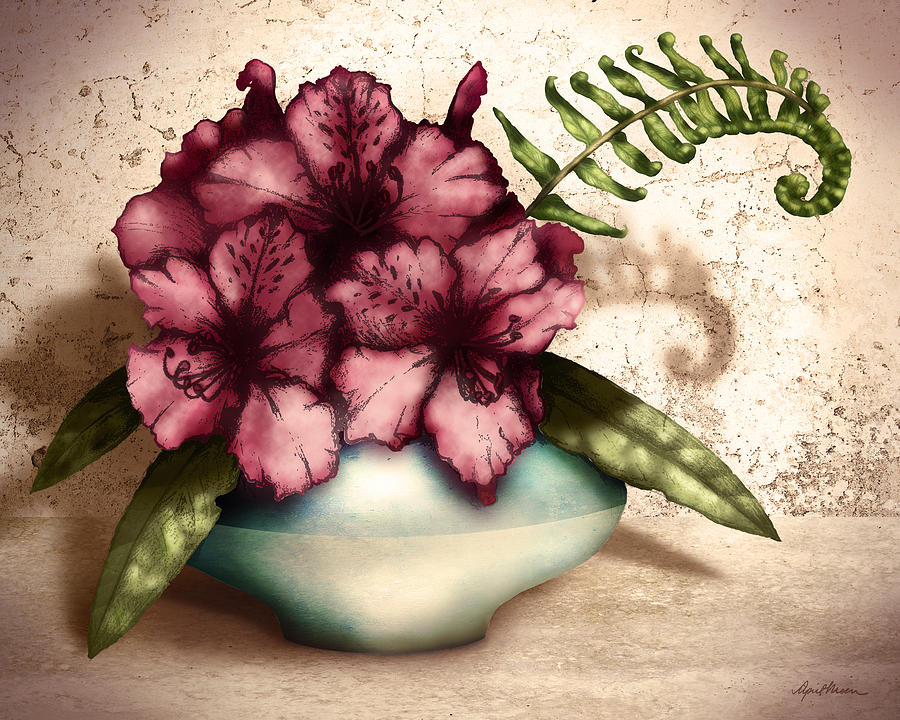 Rhododendron I by April Moen