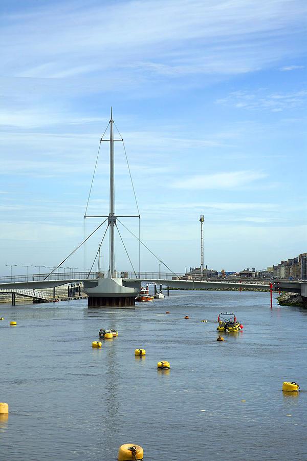 Bridges Photograph - Rhyl Harbour by Christopher Rowlands