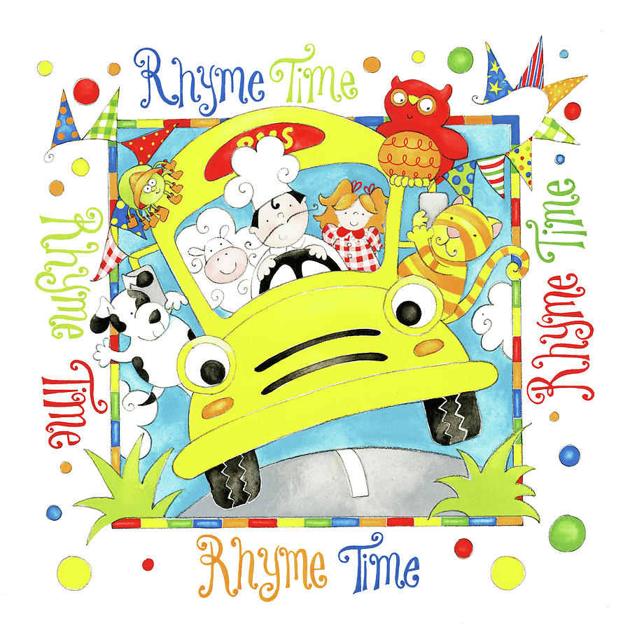 Rhyme Time Painting by P.s. Art Studios