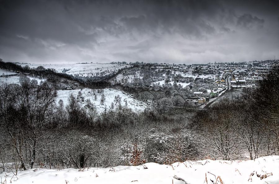 Winter Photograph - Rhymney Valley Winter 6 by Steve Purnell