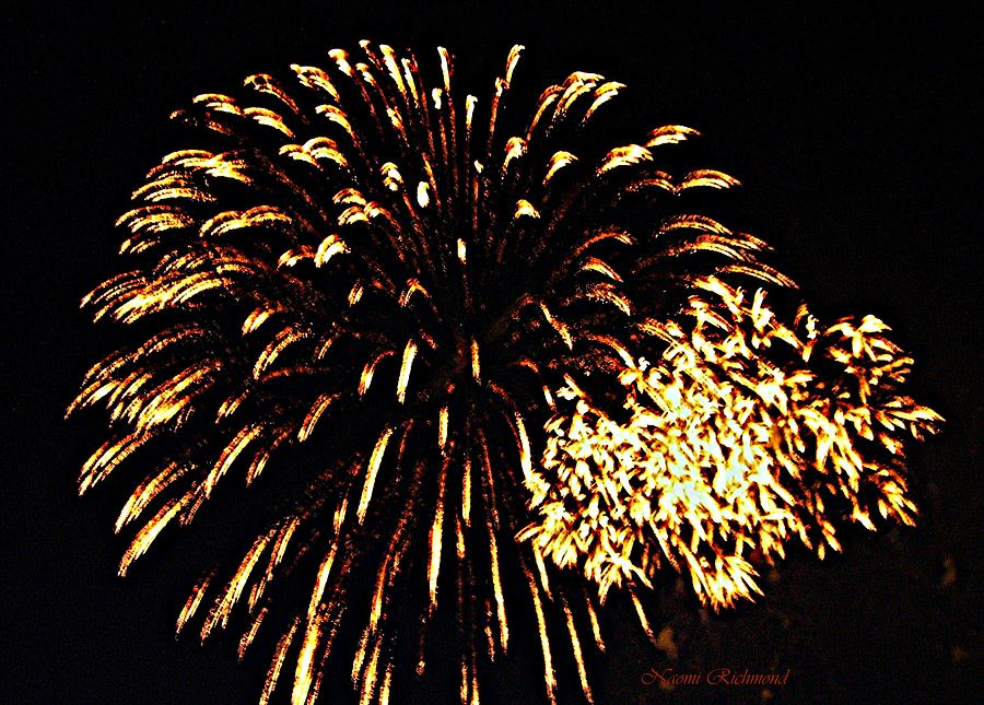 Fireworks Photograph - Rhythm And Booms by Naomi Richmond