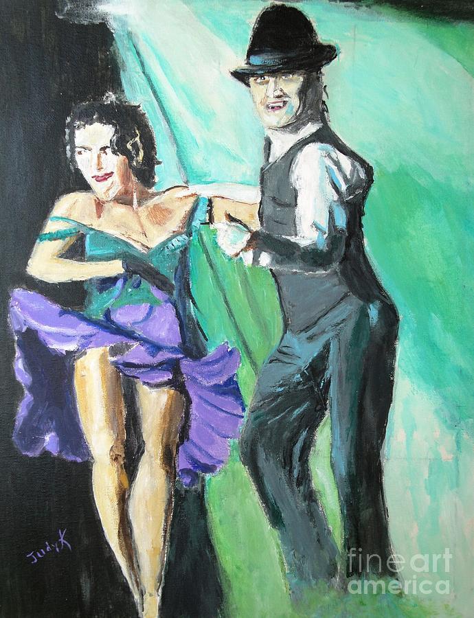 Rhythm Painting - Rhythm Of The Night by Judy Kay