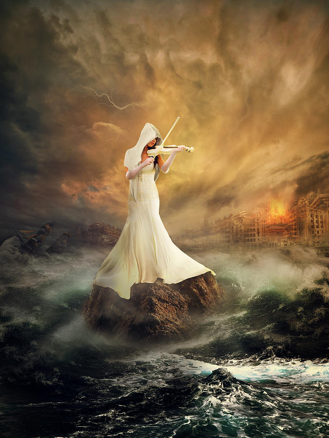 Creative Edit Photograph - Rhythm Of The Storms by Rooswandy Juniawan