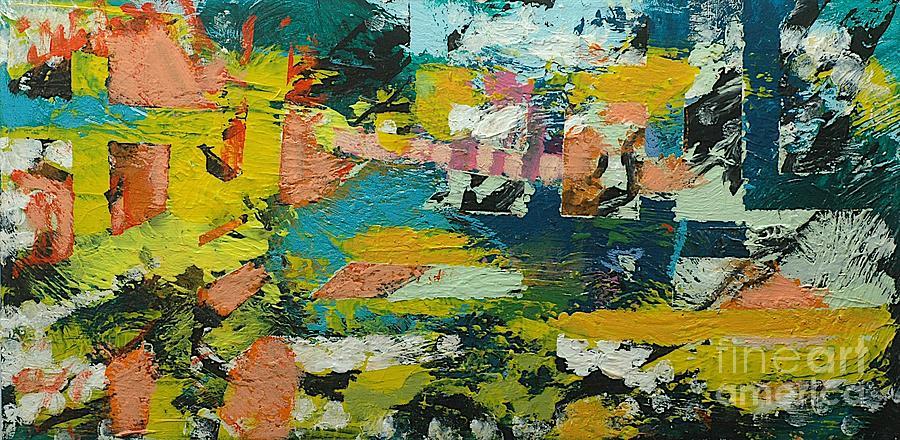 Landscape Painting - Rhythm On Jackson by Allan P Friedlander