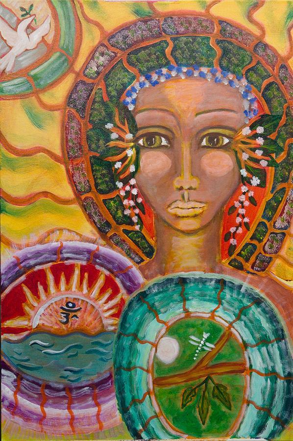 Rhythm Painting - Rhythms Of Transition by Havi Mandell