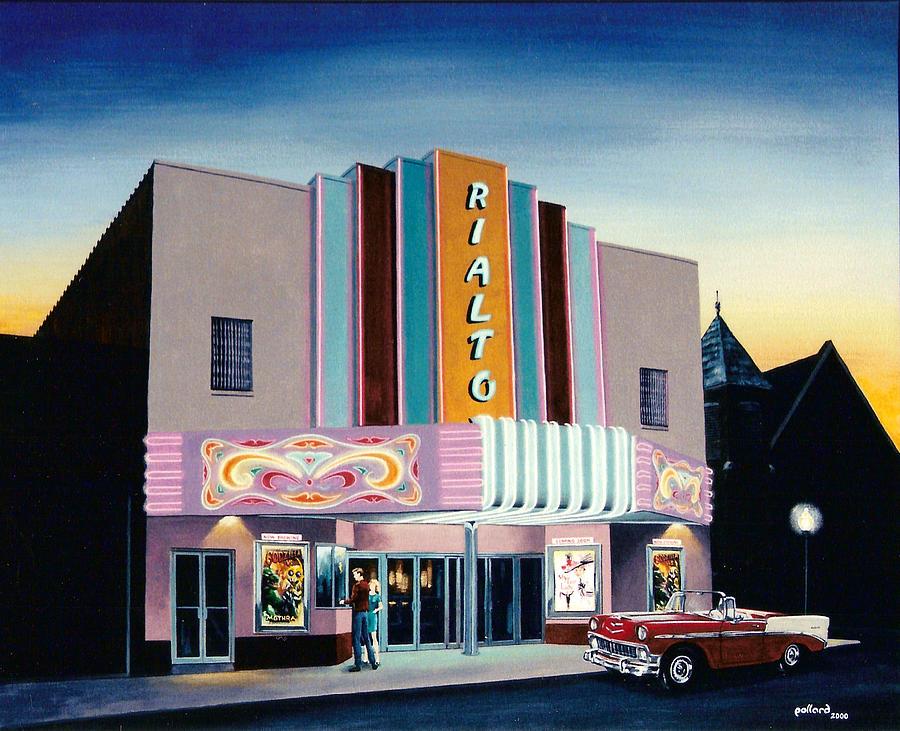 Rialto Painting - Rialto by Glenn Pollard