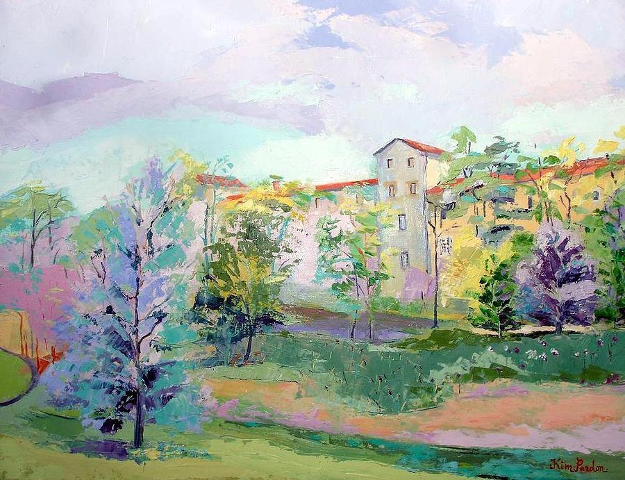 Landscape Painting - Richemont by Kim PARDON
