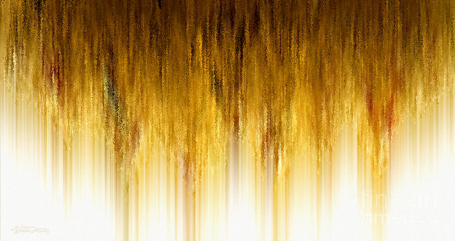 Abstract Digital Art - Riches Descending by Cristophers Dream Artistry