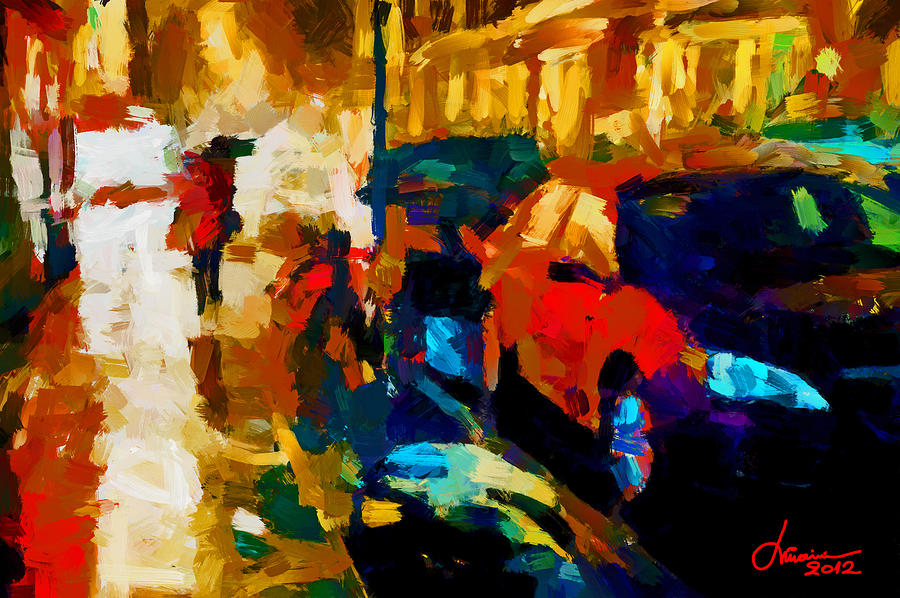 Digital Painting Digital Art - Richmond Street Tnm by Vincent DiNovici