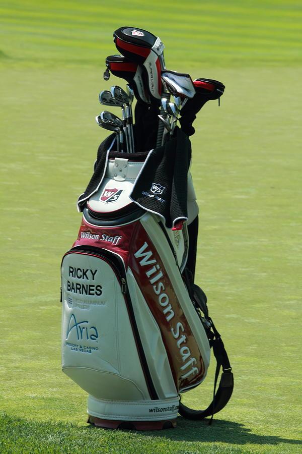Ricky Barnes Golf Bag Photograph by Greg Short