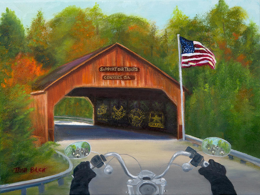Ride For The Troops by Trish Bilich