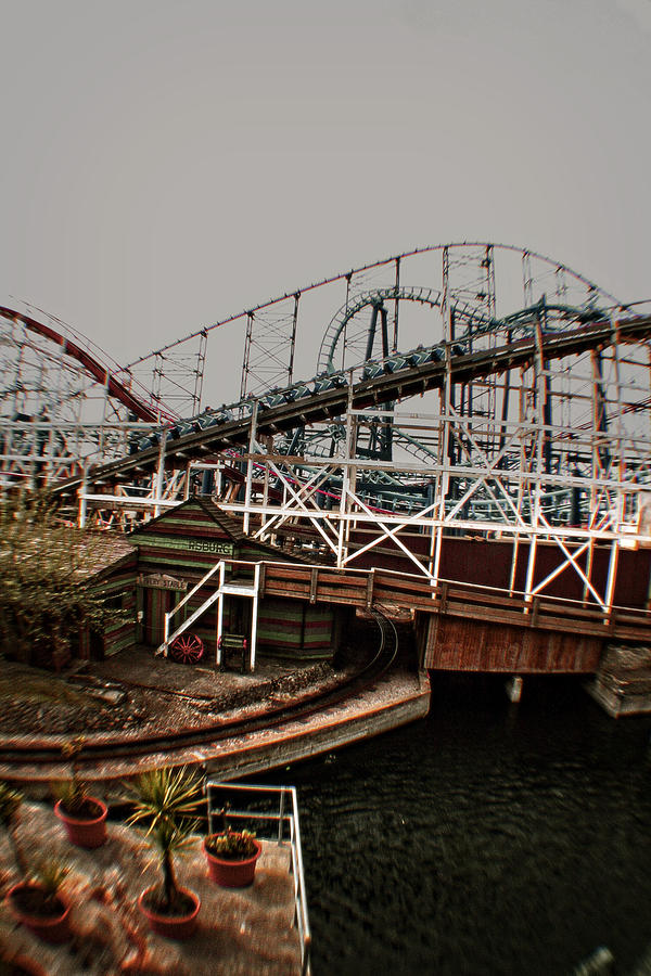 Disney Photograph - Ride The Roller Coaster by Doc Braham