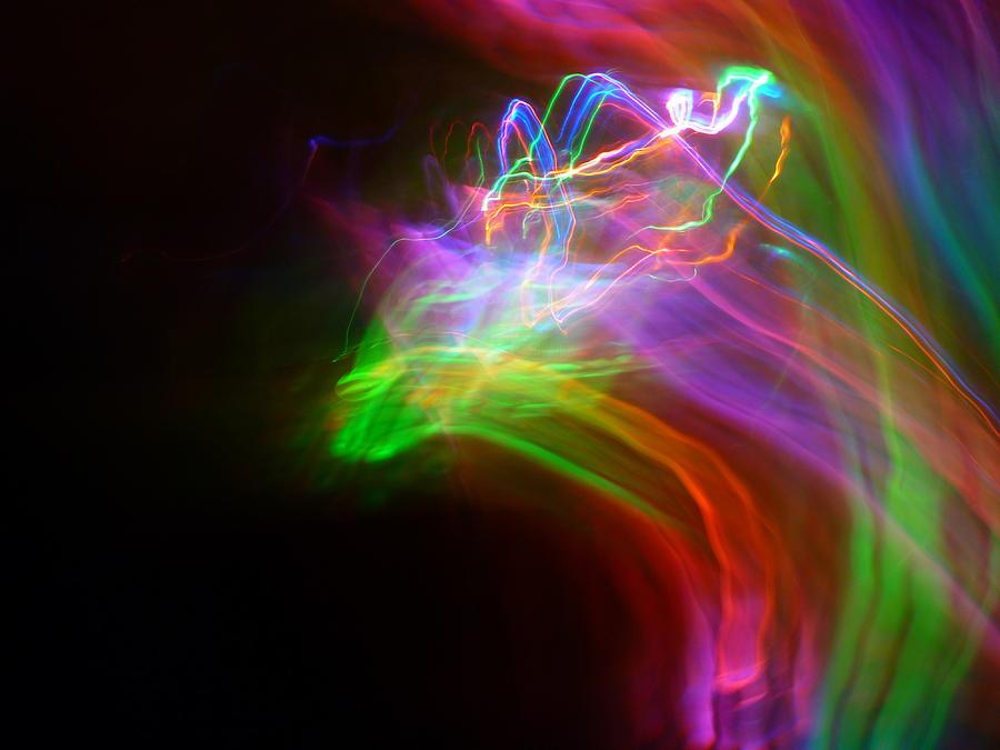 Abstract Photography Photograph - Rider by Sheldon Landa