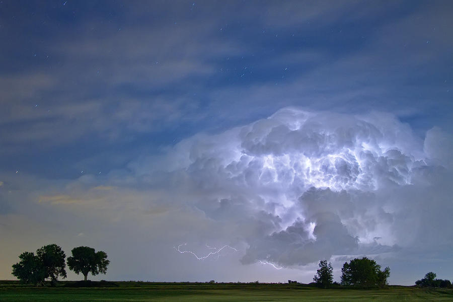 Lightning Photograph - Riders On The Storm  by James BO  Insogna