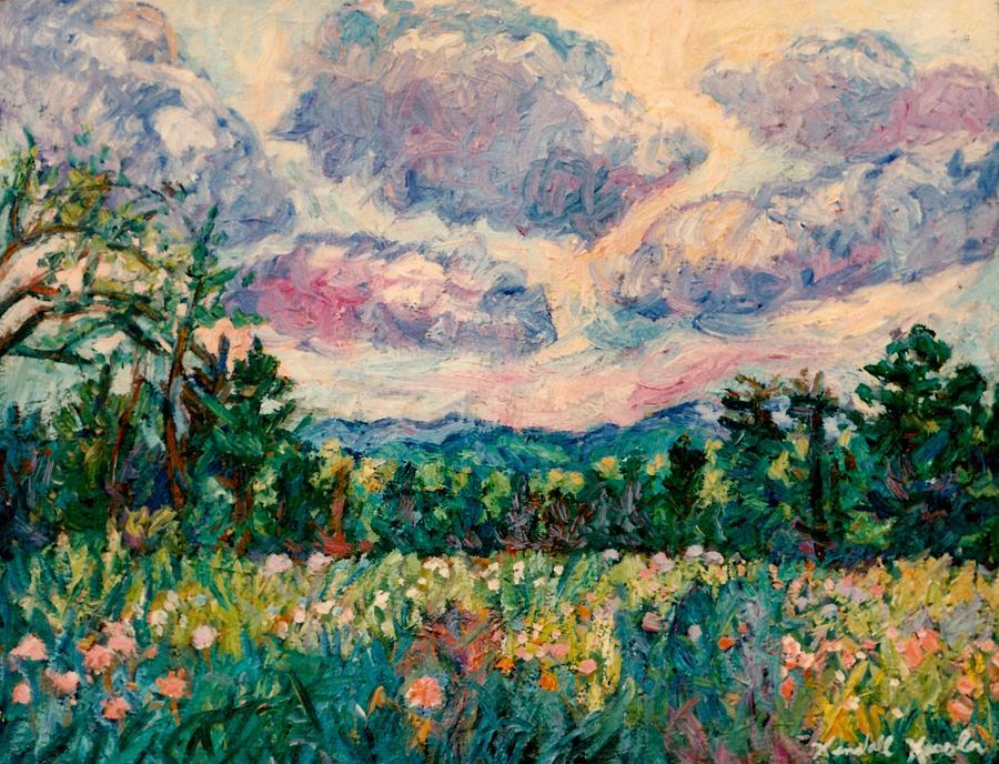 Blue Ridge Mountains Painting - Ridge Light by Kendall Kessler