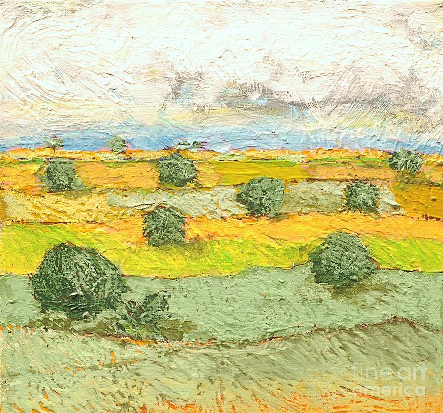 Landscape Painting - Ridge Vista by Allan P Friedlander
