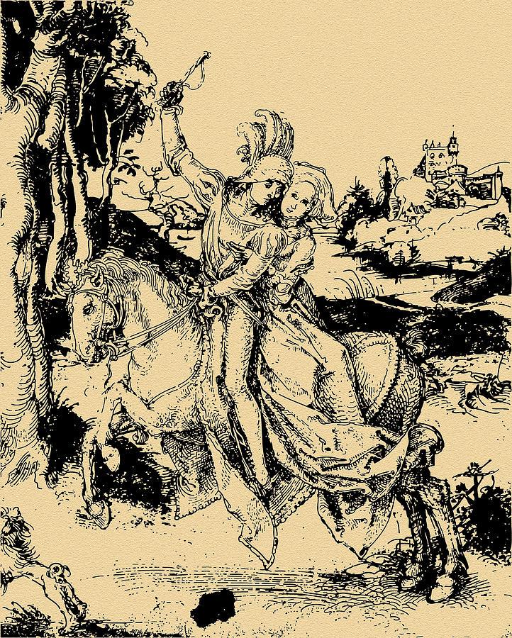 Всадница дюрера картинки