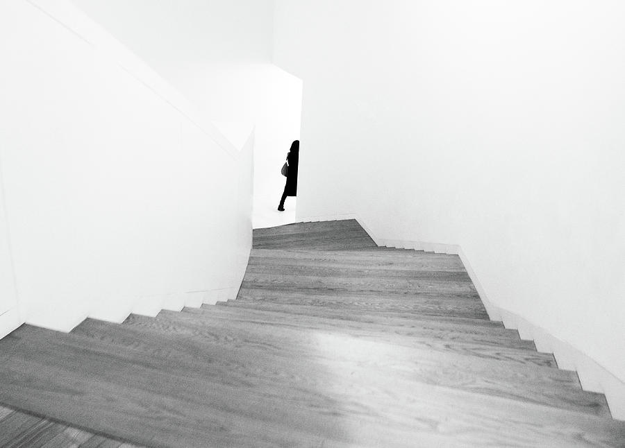 Stairs Photograph - Right by Dong Hee Han