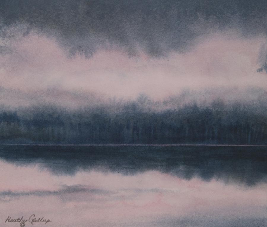 Canadian Landscape Painting - Right Place at the Right Time by Heather Gallup