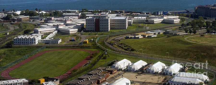 New York City Photograph - Rikers Island Jail In New York City by David Oppenheimer