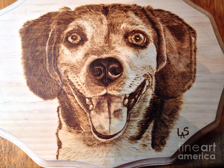 Riley Pyrography by Loring Slivinski