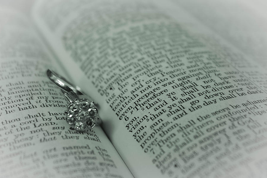 Wedding Photograph - Ring by Jennifer Burley