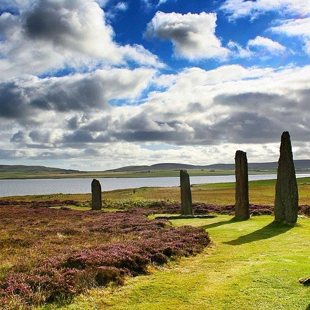 Nature Photograph - Ring Of Brodgar - Scotland by Luisa Azzolini