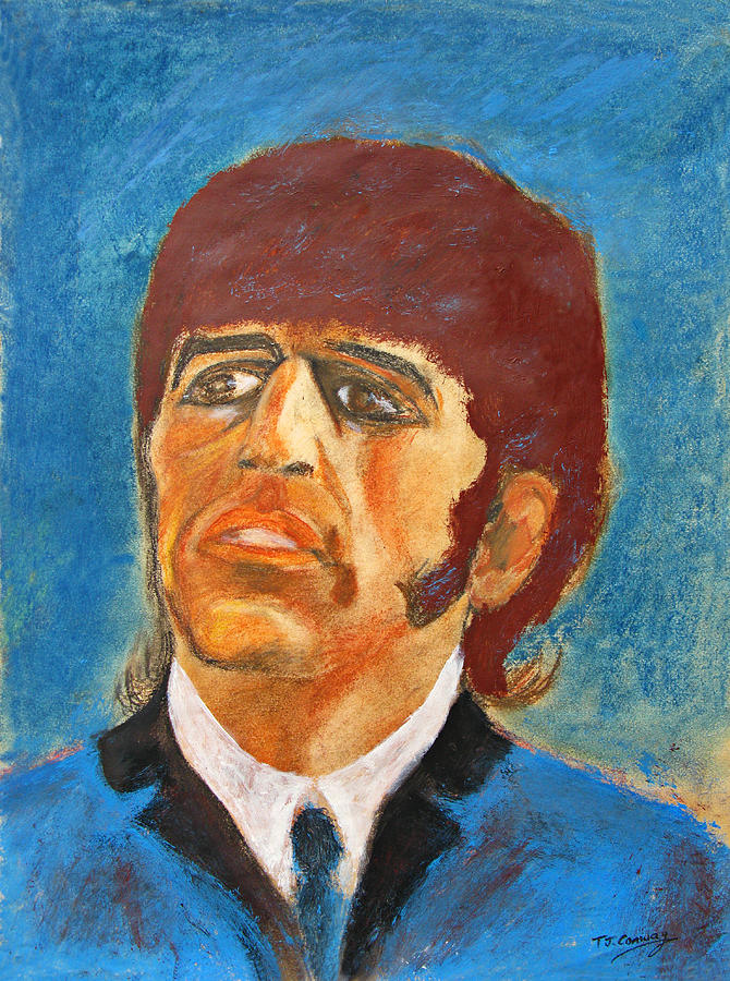 Music Painting - Ringo by Tom Conway