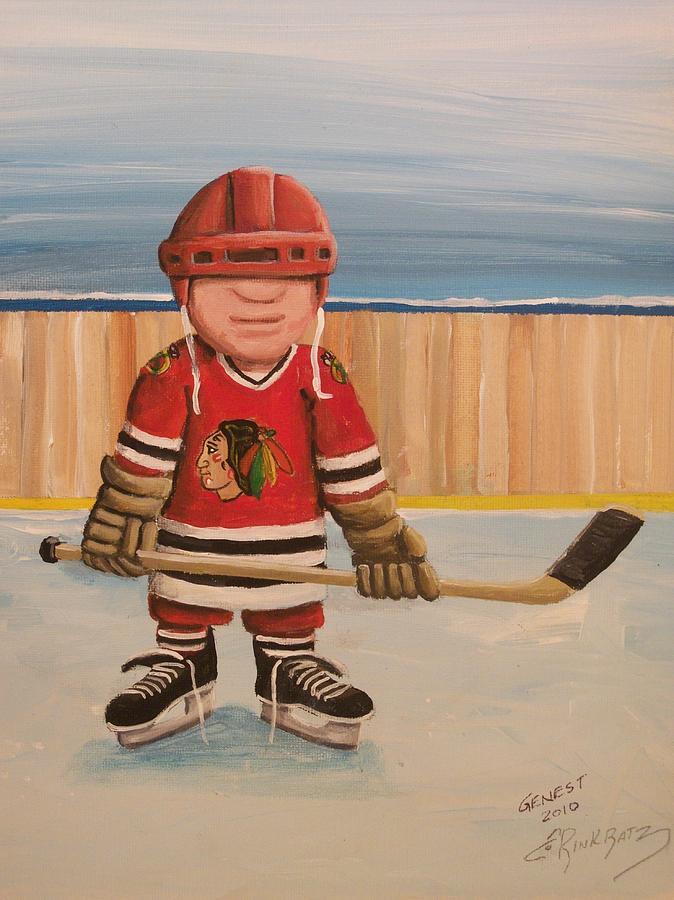 Boy Painting - Rinkrattz- Chicago  by Ron  Genest