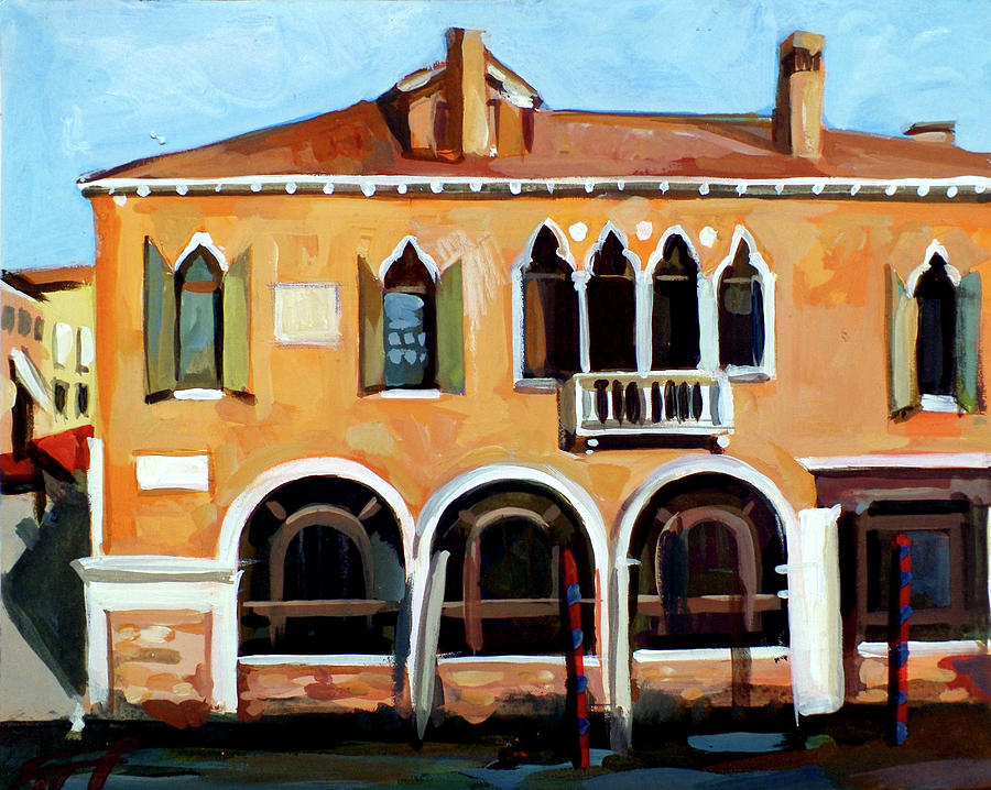 Venice Painting - Rio Del Malcanton by Filip Mihail