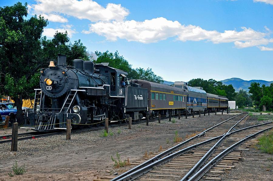 Train Photograph - Rio Grande #18 by Gene Sherrill