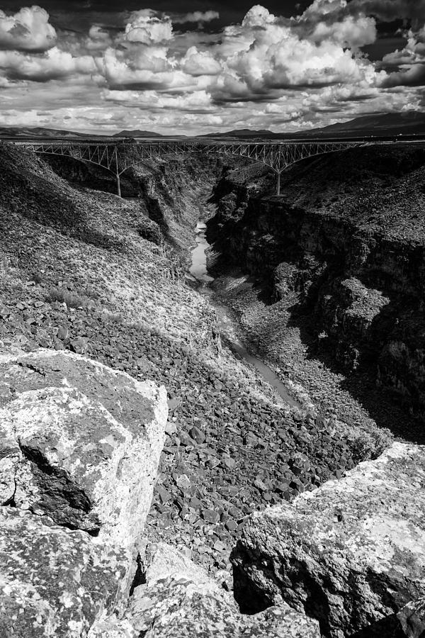 Rio Grande Photograph - Rio Grande Gorge - Taos New Mexico by Silvio Ligutti