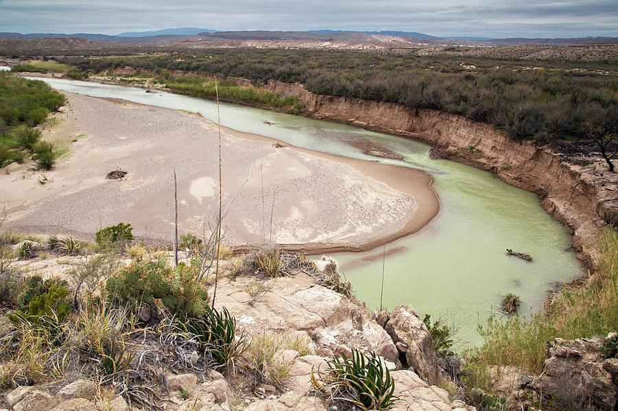 America Photograph - Rio Grande In Boquillas Canyon by Bob Gibbons/science Photo Library