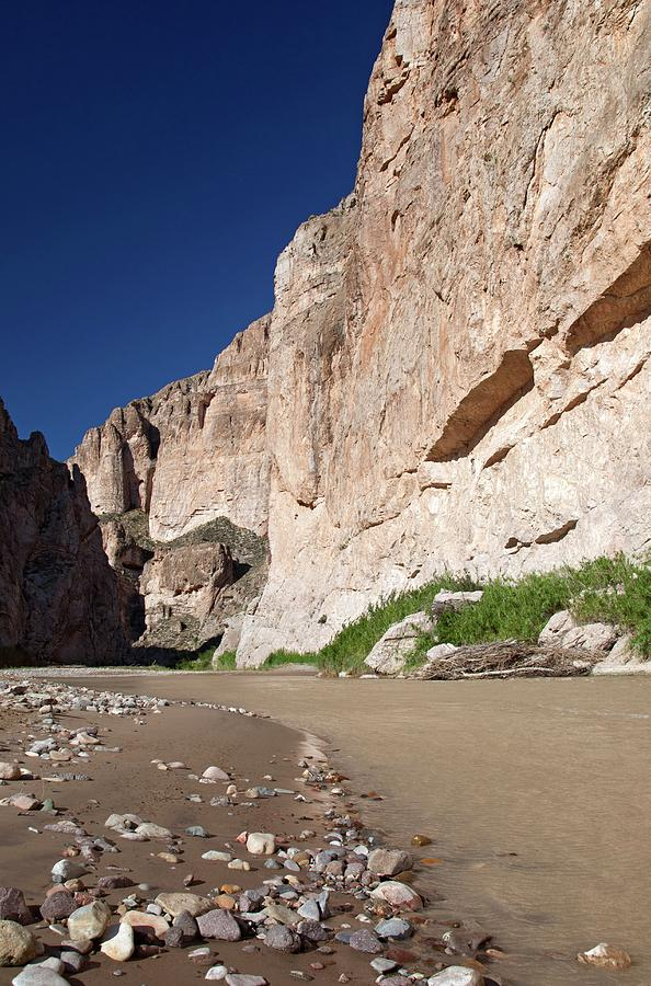 River Photograph - Rio Grande In Boquillas Canyon by Jim West