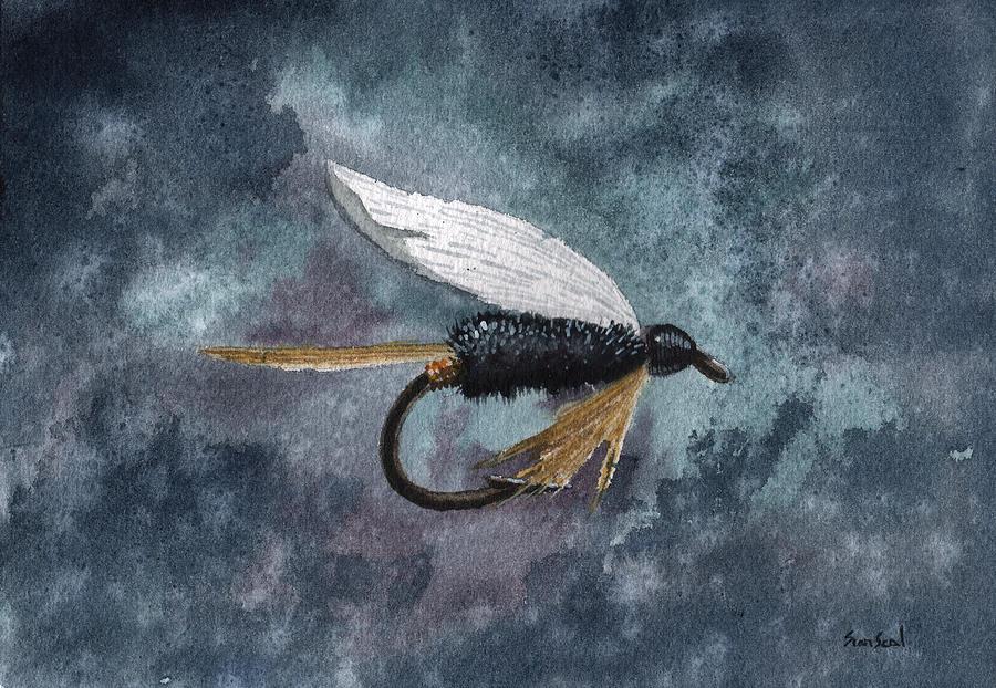 Fishing Painting - Rio Grande King by Sean Seal