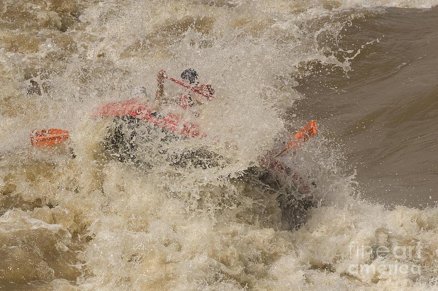 Rio Grande Photograph - Rio Grande Rafting by Steven Ralser
