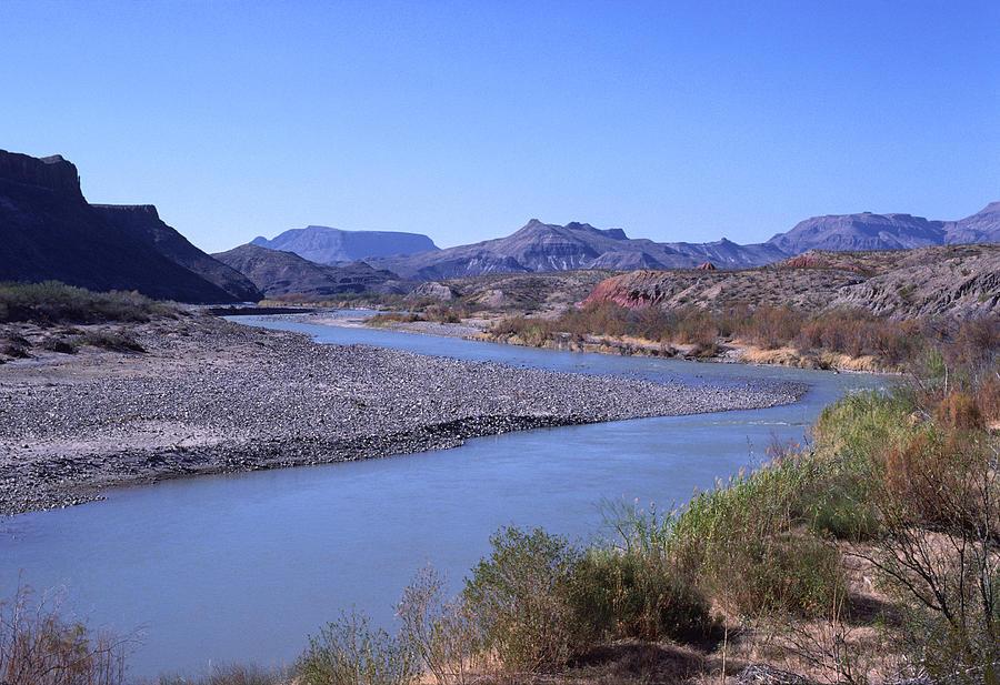 Rio Grande River Big Bend National Park Tx Photograph