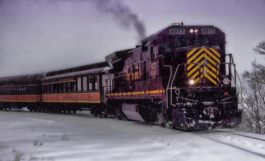 Train Photograph - Rio Grande Scenic Railroad by Ellen Heaverlo