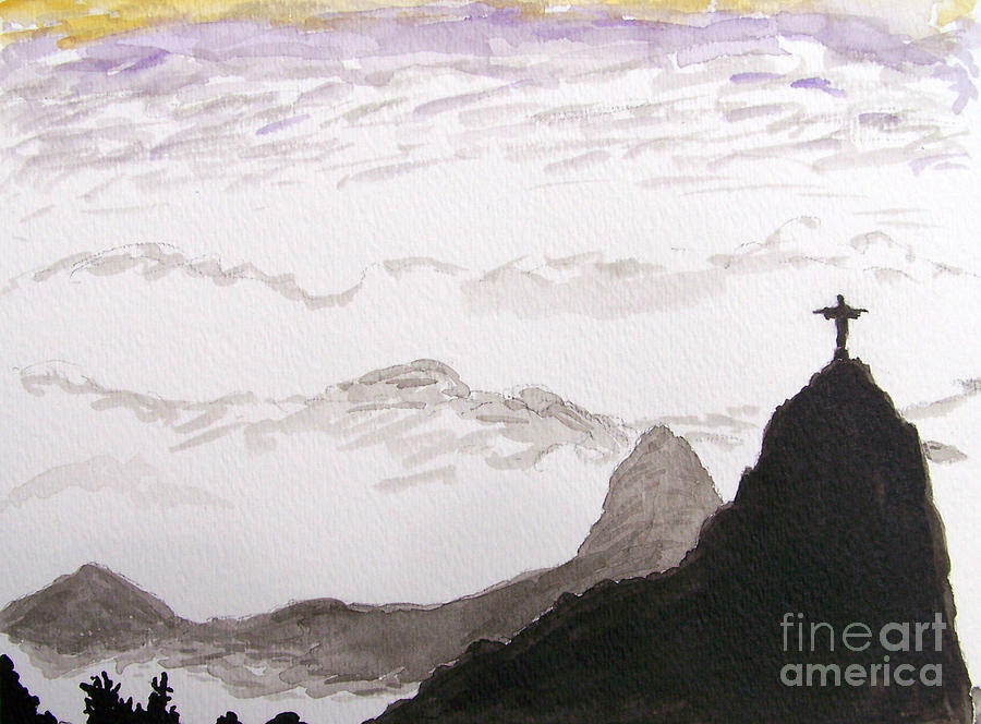 Rio Mixed Media - Rio Sunrise by Kevin Croitz